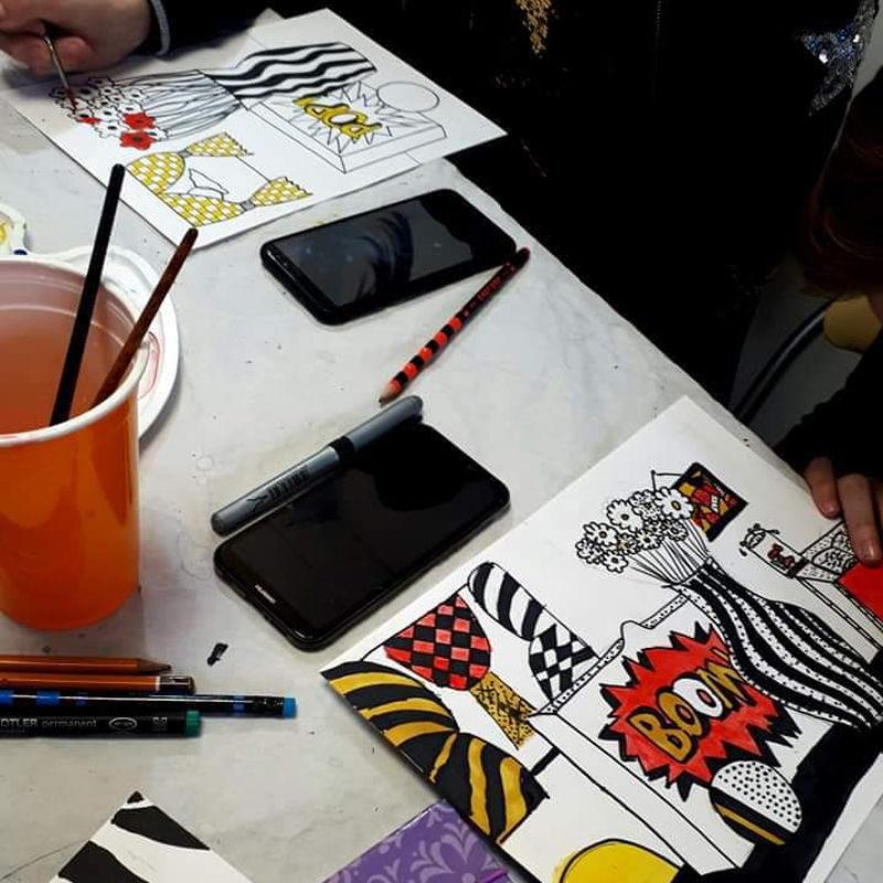 Atelierul de Creatie / Cursuri de pictura pentru copii