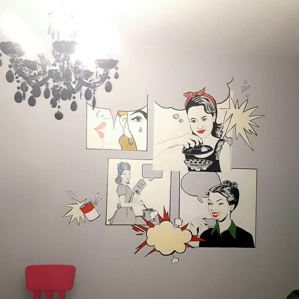 Pictură pe pereți
